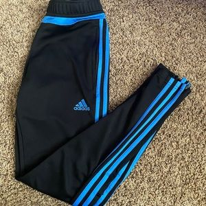 Blue Adidas Sweats